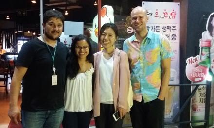 Equipo de la Maestría en Seguridad Alimentaria aprende en Corea del Sur